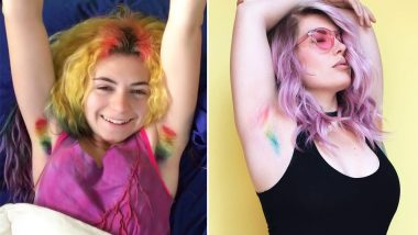 After Januhairy, Make Way for Unshaved Unicorn Armpit Hair, the Latest Beauty Trend Going Viral